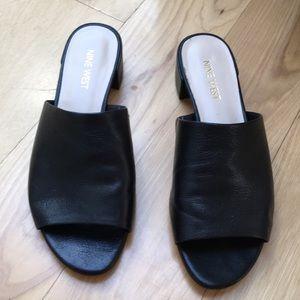 Leather Nine West Size 6 Sandals